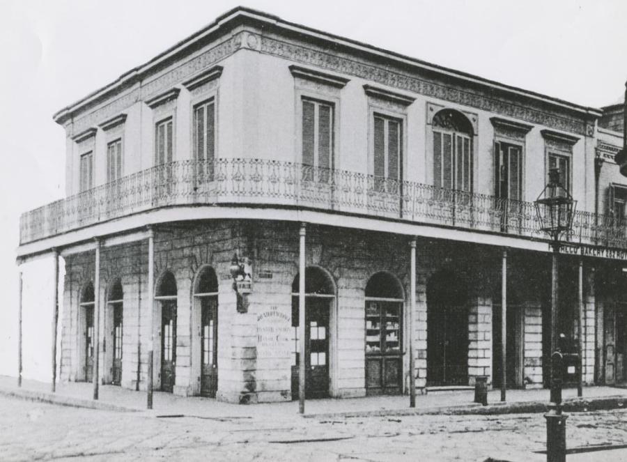 LaLaurie Mansion (1140 Royal corner [630-638] Governor Nicholls)